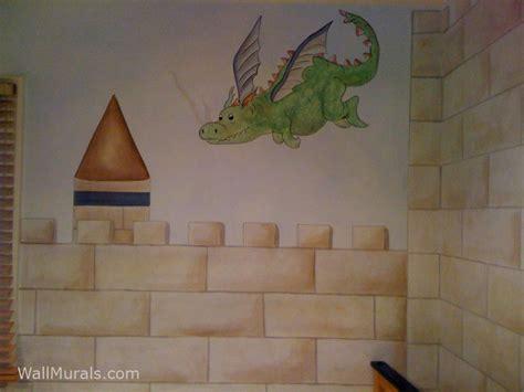castle wall murals by colette castle murals castle theme wall murals