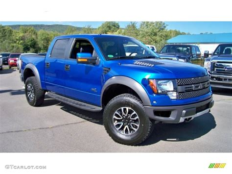 Ford Raptor Blue by 2012 Blue Metallic Ford F150 Svt Raptor Supercrew