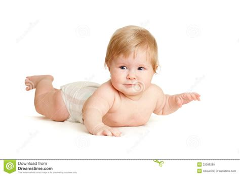 downward position baby lying position stock photo image 22099280