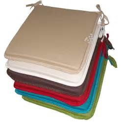 Dining Chair Seat Pads Uk Dining Garden Chair Zip Removable Cushion Seat Pads Ties Set Of 1 2 4 6 Ebay