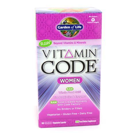 Vitamin Code Garden Of by Vitamin Code S Multi By Garden Of 240