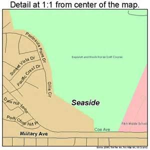 seaside california map seaside california map 0670742