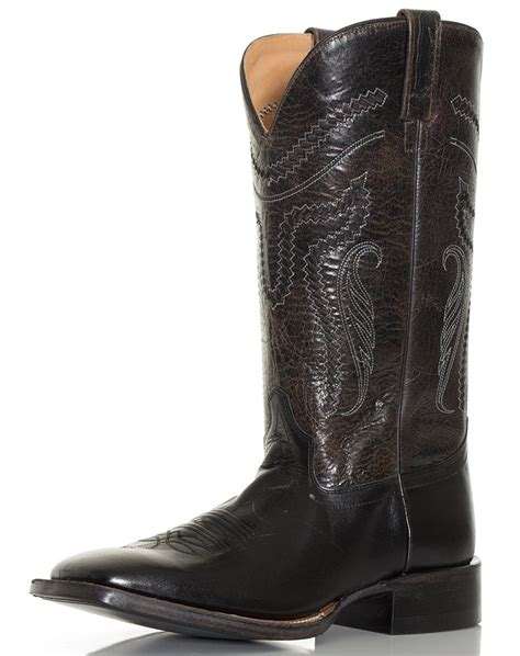 square toed boots for s west 13 quot broad square toe western boots black