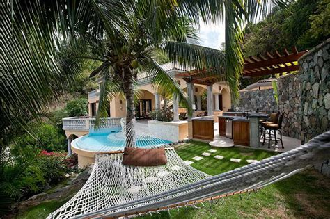 bloombety backyard hammock ideas with swimming pool the