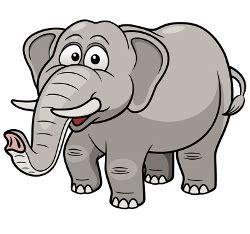 imagenes de jirafas gordas el misterio del elefante gordo