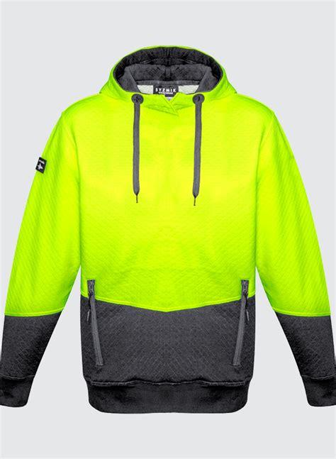 jacquard hoodie zt477 unisex hi vis textured jacquard hoodie business