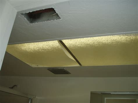 how to hide fluorescent lights replace recessed fluorescent light fixture with led