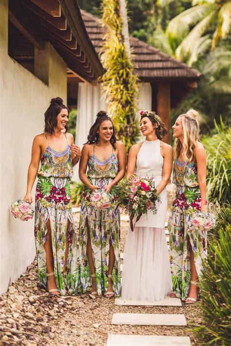 sinead chris chic tropical wedding