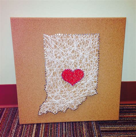 String Nail Templates string on cork board all you need is cork string a