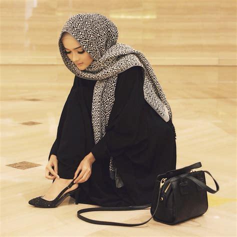 hijabs high abaya with high heeled styling ideas for muslim girls