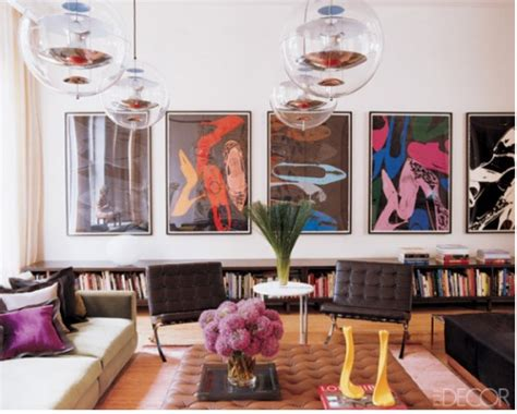 pop art home decor look of the day the artwork of andy warhol lilu interiors