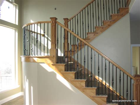 stair and stair railing contrctor apex carpentry