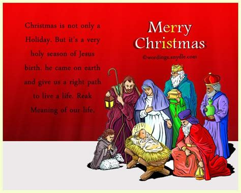 religious christmas messages  wishes wordings  messages merry christmas message
