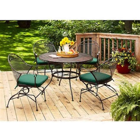 top   wrought iron patio furniture sets pieces heavycom
