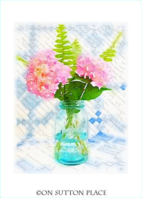 printable watercolor flowers summer flower watercolor printables on sutton place