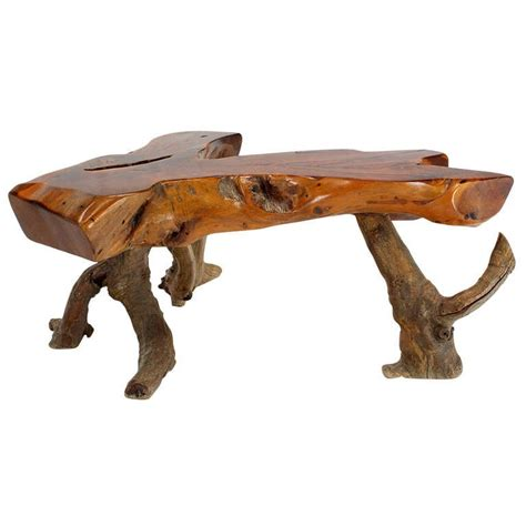 Drift Wood Coffee Table Driftwood Coffee Table At 1stdibs