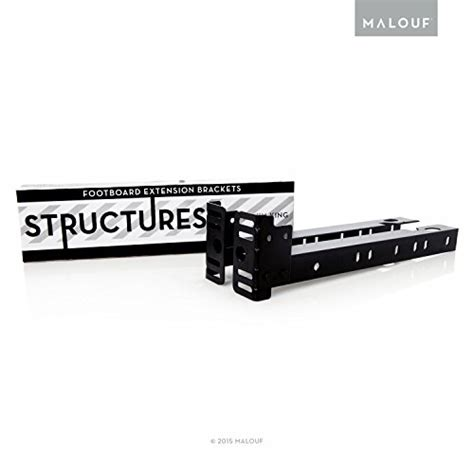 Footboard Extension Brackets by Malouf Structures Bolt On Footboard Extension Brackets