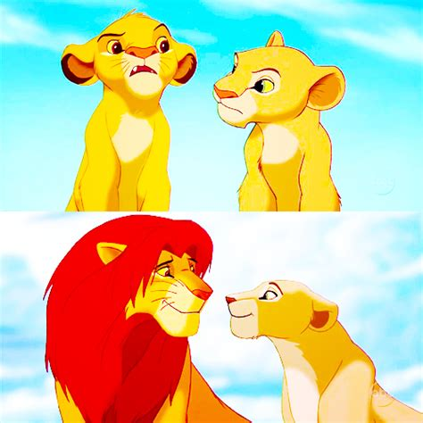 film cartoon simba simba nala the lion king pinterest disney lion