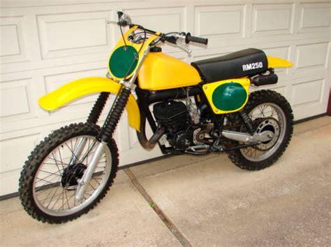 1978 Suzuki Rm 250 1978 5 Suzuki Rm250 For Sale Wa