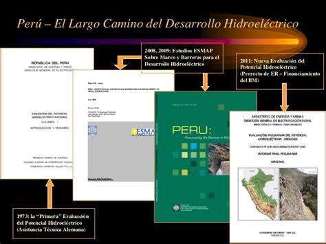 Lu Hid Cb peru evaluacionpotencialhidroelectrico