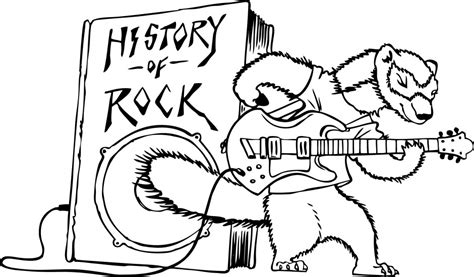Rock And Roll Coloring Pages rock and roll coloring pages az coloring pages