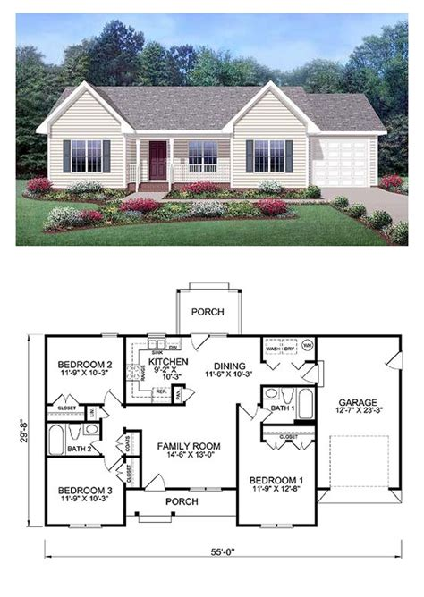 cool ranch house plans ranch style cool house plan id chp 39172 total living area 1150 sq ft 3