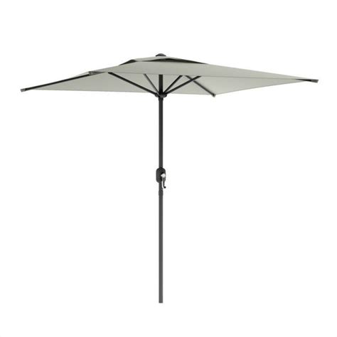 square patio umbrella in sand gray ppu 330 u