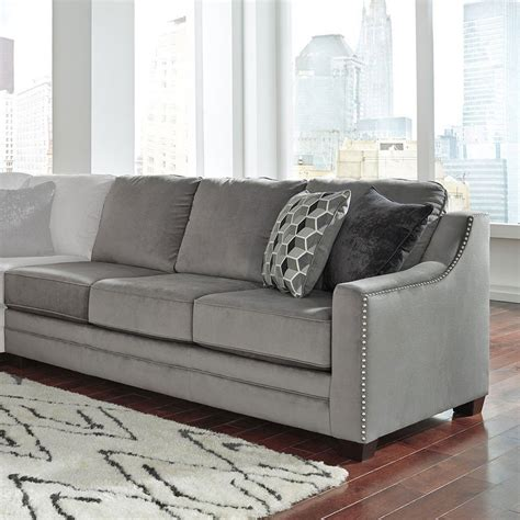 Charcoal Sectional Sofa Bicknell Charcoal Right Sofa Sectional Sectionals Living Room Furniture Living Room