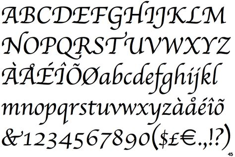 apple font identifont apple chancery