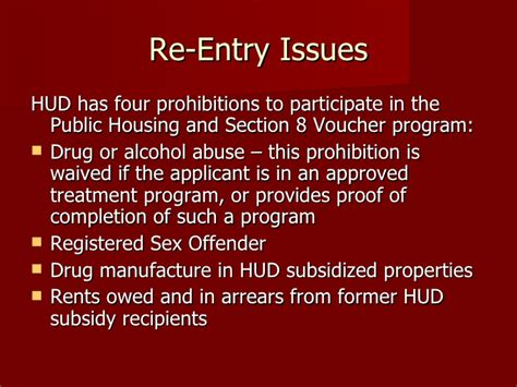 how to get section 8 voucher fast incarceration reentry homelessness