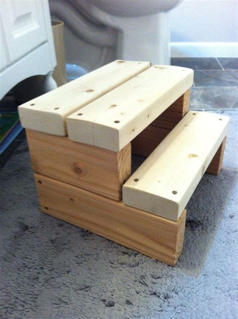 Bathroom Step Stool Wood by Wood Step Stool Bathroom Stool Kid Step Stool By