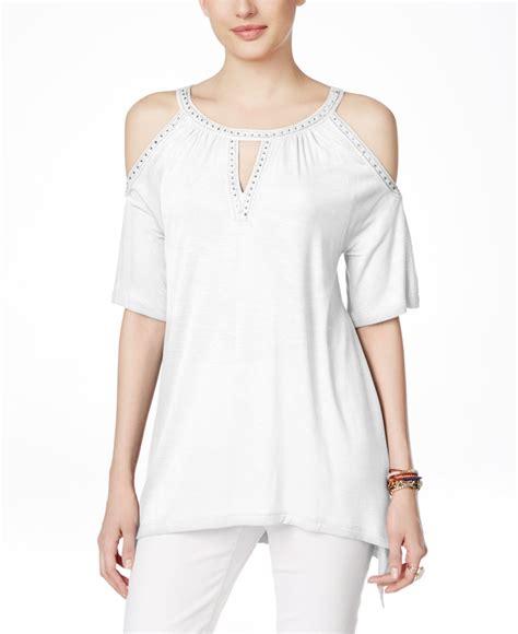 Macys Blouse macy s white blouse chiffon blouse pink