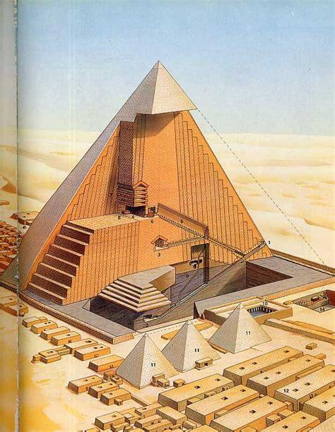 Pyramid Interior by Khufu Pyramid Tourism And Travel