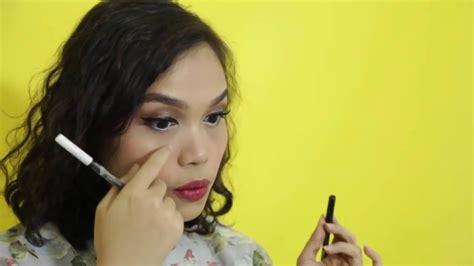 Makeup Martha Tilaar sariayu glam makeup look tutorial