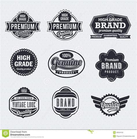 Logo Etiketten by Retro Vintage Vector Labels Stock Vector Image 26504102