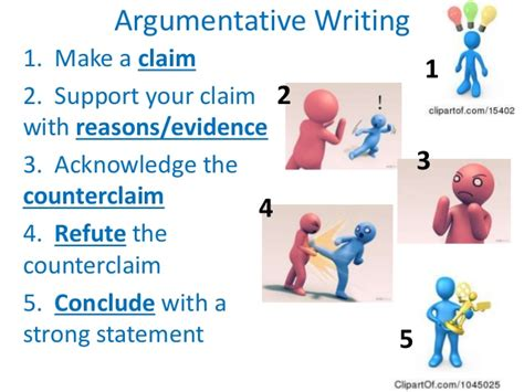What Is A Claim In An Argumentative Essay by Argument Writing Presentation