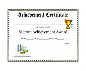 Certificate Achievement Template by Award Certificate Template 29 In Pdf Word