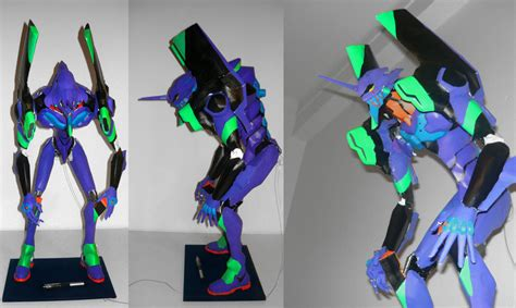 Papercraft Evangelion - my 01 papercraft by gamathecast on deviantart