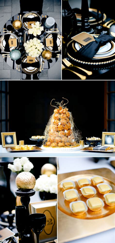 wedding themes gold and black black and gold wedding theme