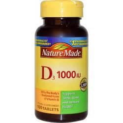 vitamin d l nature made d3 vitamin d supplement 1000 iu 100