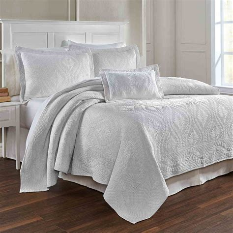 coverlets and shams traditions linens bedding suzi matelasse coverlet and shams
