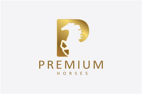 premium logo templates premium horses logo logo templates on creative market