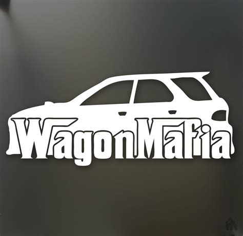 subaru outback decals wagon mafia lowered sticker subaru wrx sti legacy low
