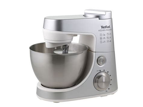tefal qb403d40 silver kitchen machine 900w 4 litre food