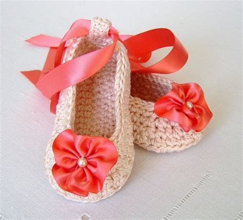 crochet ballerina slippers crochet pattern baby shoes ballerina slippers easy pattern for