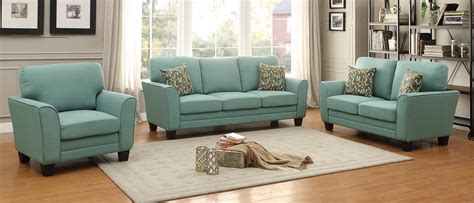 teal living room furniture adair teal living room set