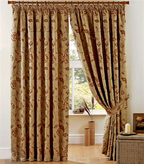 curtain weight luxury heavy weight jacquard curtains pencil pleat lined