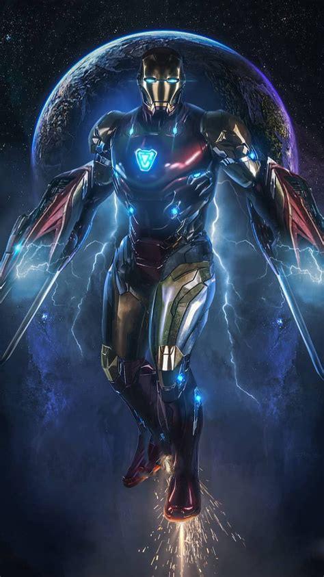 iron man  space avengers endgame iphone wallpaper