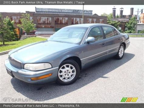 2001 buick park avenue ultra titanium blue metallic 2001 buick park avenue ultra