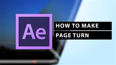 How To Apply Page Turn Effect In After Effects Cs6 Youtube After Effects Page Turn Template Free